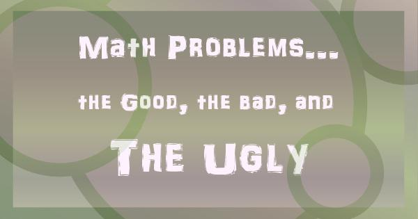 good math problems Quickmath allows students to get instant solutions to all kinds of math problems, from algebra and equation solving right through to calculus and matrices.