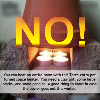 The Problem Site & Tealight Space Heater - Ask Professor Puzzler